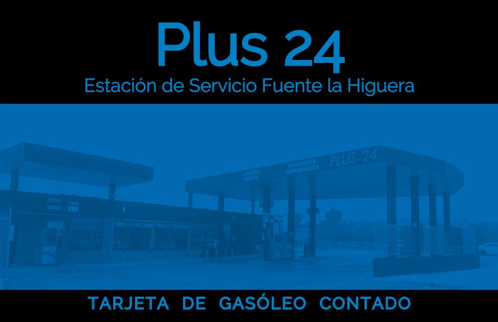 Tarjeta gasóleo cliente - Contado
